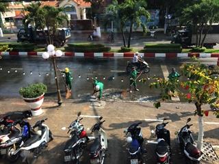 Chung tay vì thành phố sạch đẹp