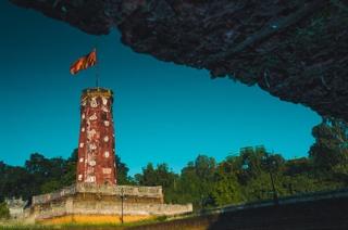 Cột cờ thành cổ Sơn Tây