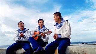 Lính hát - điểm đảo Đá Lát