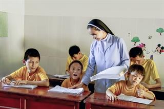 Lớp học tình thương