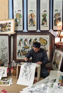 Nghệ nhân làng Đông Hồ